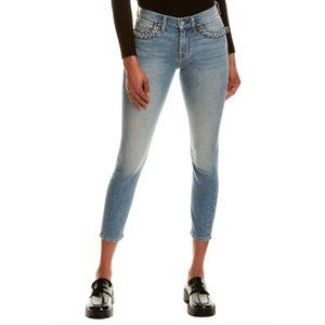 NWT 7 For All Mankind ankle skinny denim jeans, 23